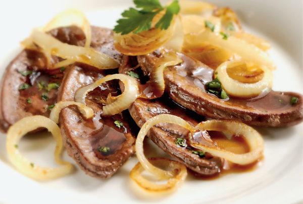 Fegato di bovino piatto fiorani e c. lavorazionie e logistica per le carni