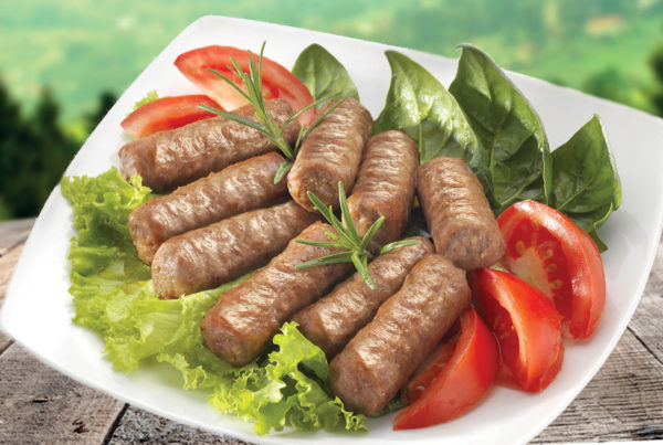 Salsicetta con vitello g 300 ATP fioranie c. produzione e distribuzione carni