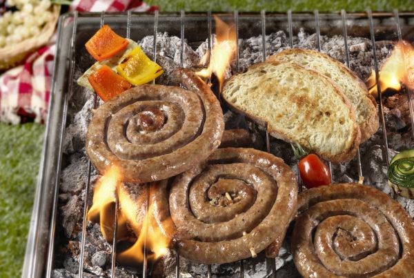 Luganega confezione famiglia 2500 gr fiorani e c. produzione carne suina piacenza