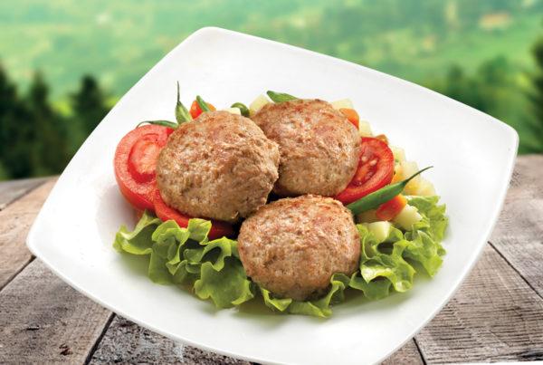 Polpette di suino e bovino fiorani e c. produzione carne suina e bovina_piatto