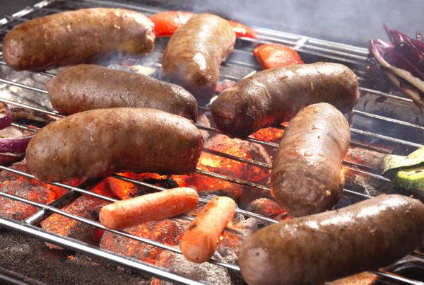 Salamella 2500 gr fiorani e  c. produzione salsicce carne bovino e suino