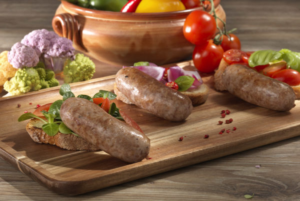 Salamella mantovana 400 gr fiorani e c. lavorazione e distribuzione carni