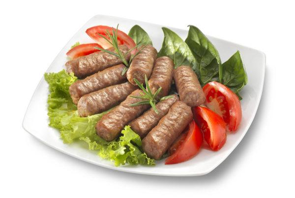 Salsiccette con vitello fiorani e c. azienda produzione carne