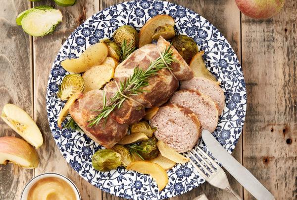 Rotolo di coppa di suino grammi 700 fiorani piacenza hub della carne