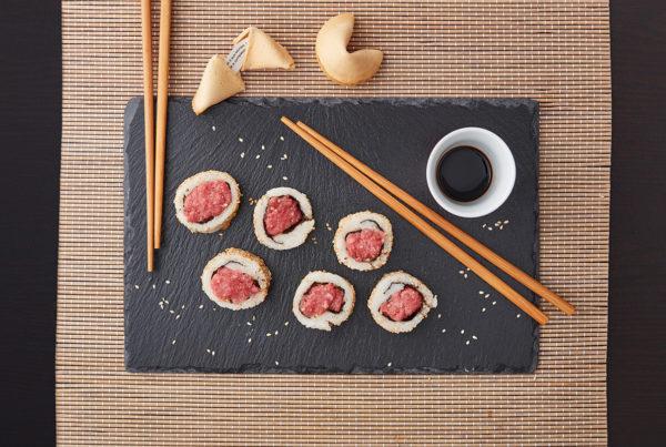 Suschi tartare ricetta fiorani hub lavorazione carni