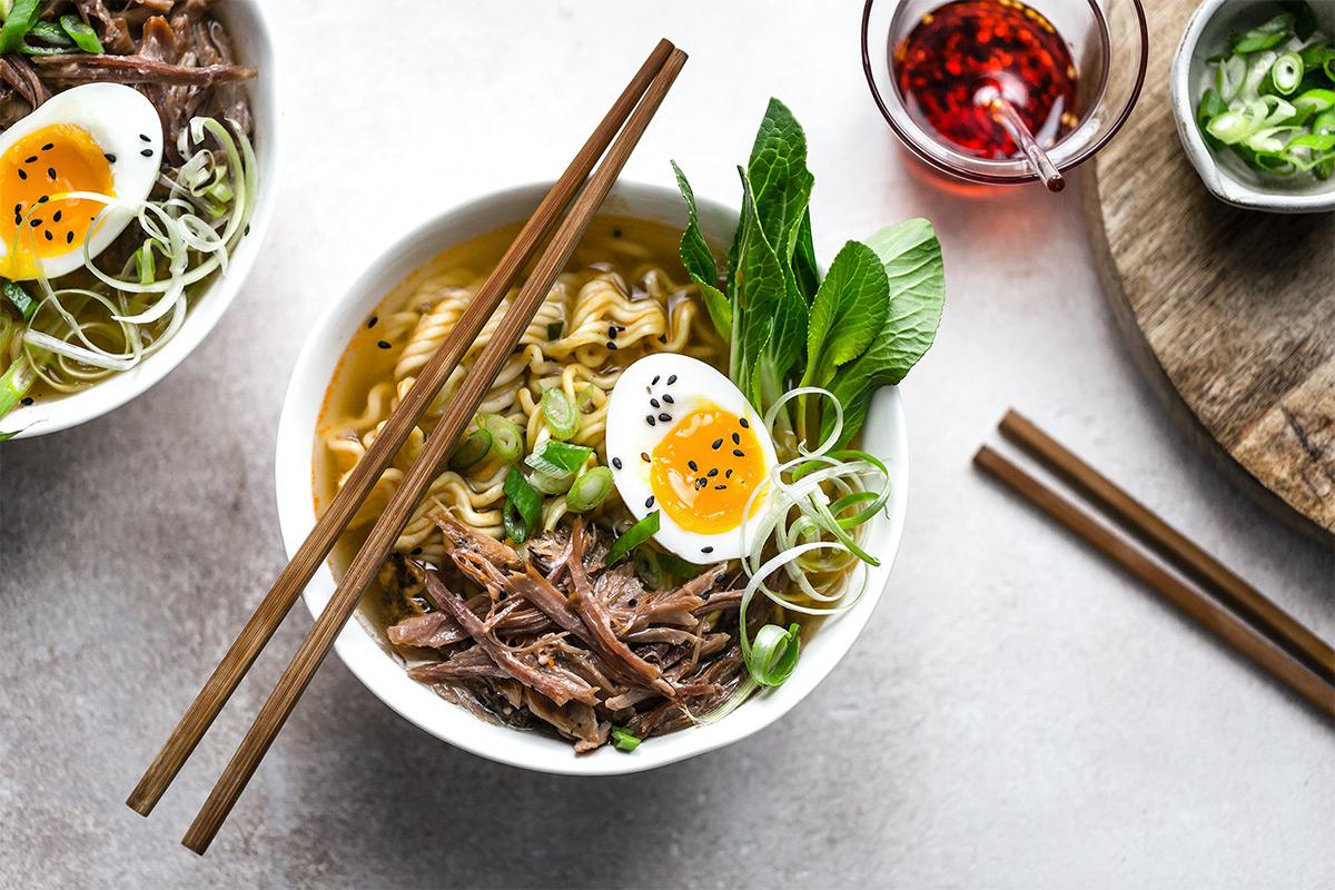 Ricetta Ramen Miso.Recipe Miso Ramen With Pork Shank Fiorani C S P A