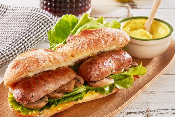 Ricetta fiorani panino con salsiccia maionese al curry