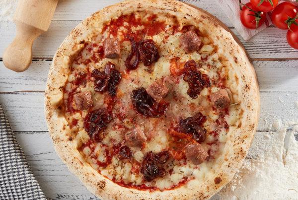Ricetta pizza con mantovana e cipole caramellate ricetta fiorani carni
